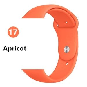 NEW[BAND] Apricot Sport Silicone For Apple Watch